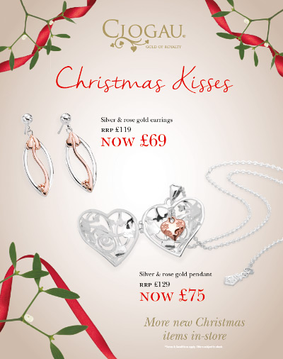 Offers at the Clogau Outlets this November
