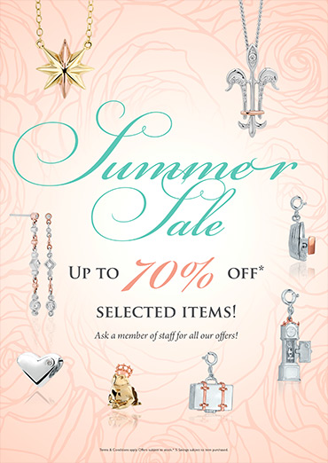 Summer Sale! Up to 70% off