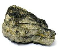 Welsh gold rock