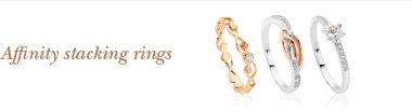 New Affinity stacking rings