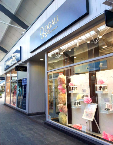 Clogau Outlet Bridgend store shop front