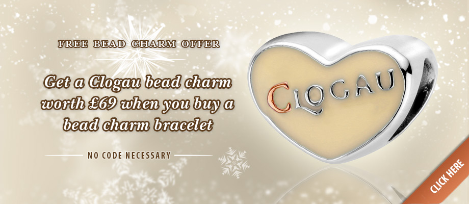 Free Christmas bead charm offer