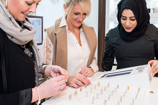 Clogau Westfield London Store Staff