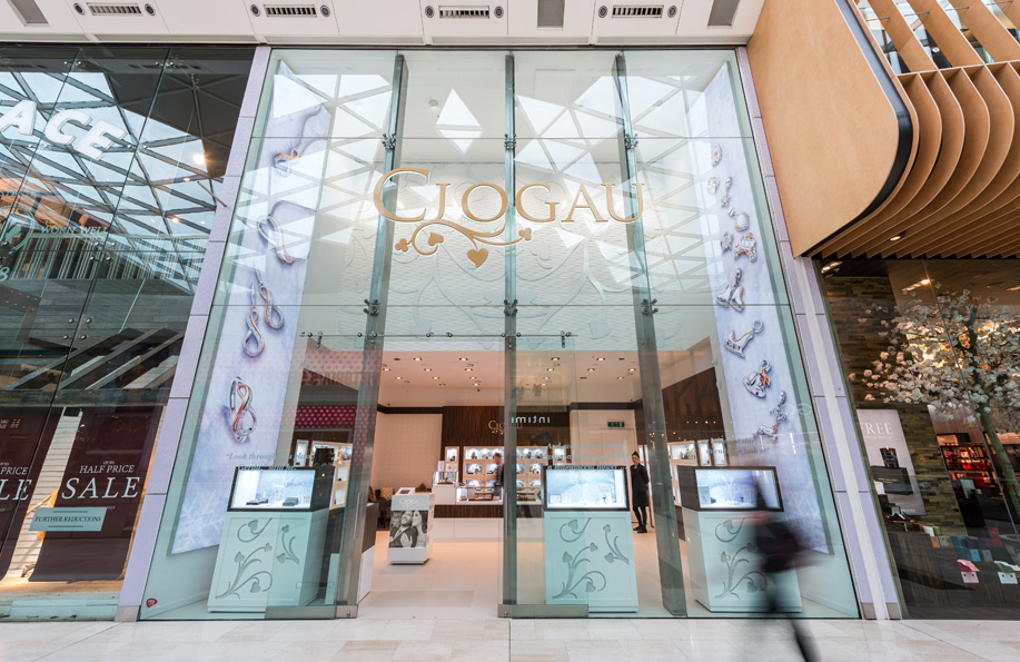 Clogau Westfield London Store Front